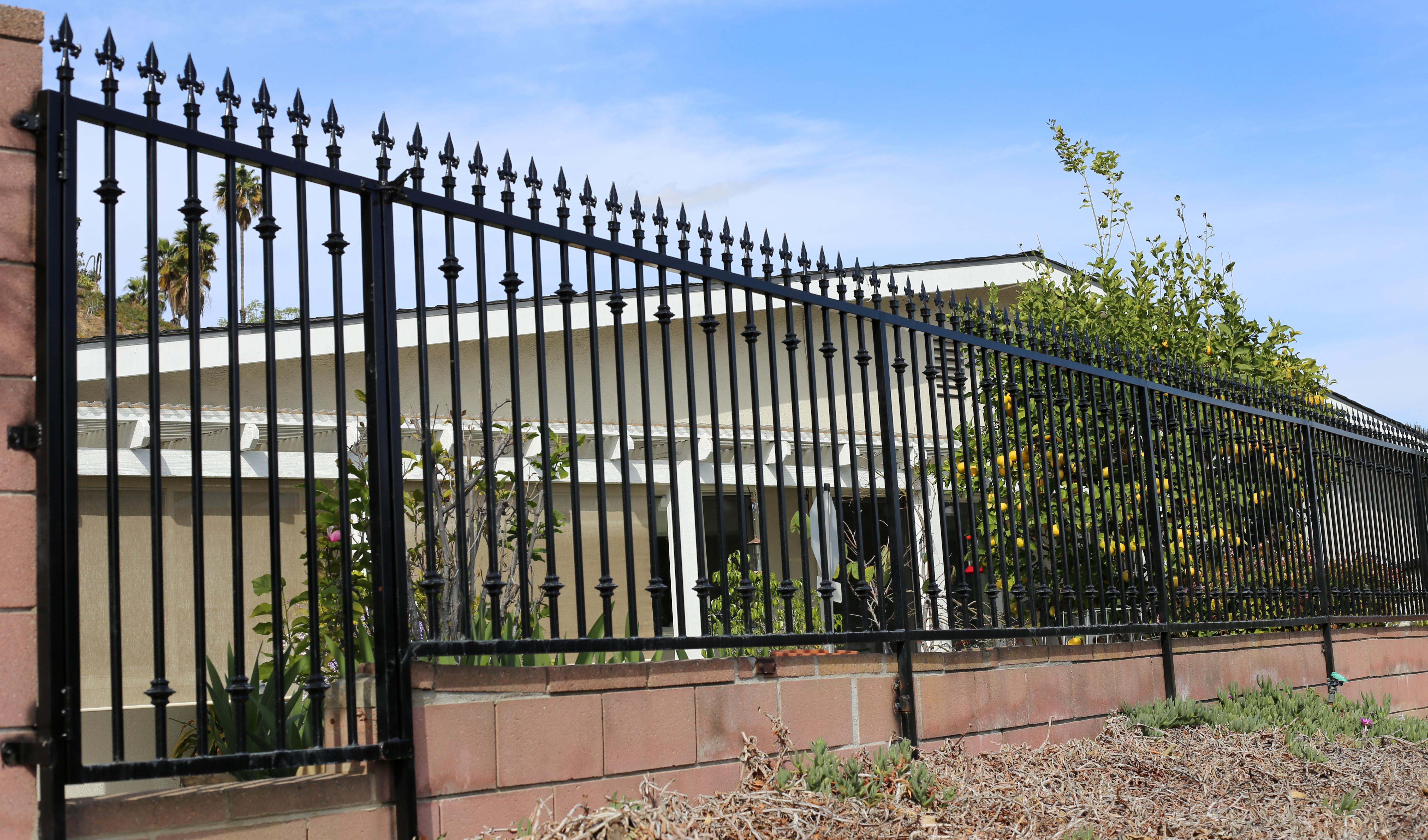 Jrc wrought iron photos of custom doors fences